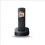Panasonic Cordless KX-TGC310FXB Built-in display, Speakerphone, Black, Ca