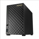Asus Asustor Tower NAS AS3102T v2 up to 2 HDD, Intel Celeron Dual-Core, P