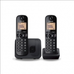 Panasonic Cordless KX-TGC212FXB Black, Built-in display, Phonebook capaci