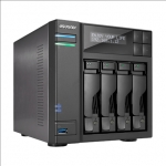 Asus Asustor Tower NAS AS6404T up to 4 HDD/SSD, Intel Celeron Quad-Core,