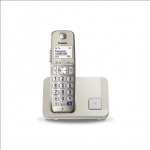 Panasonic Cordless KX-TGE210FXN Conference call, Built-in display, Champa