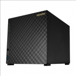 Asus Asustor Tower NAS AS1004T v2 up to 4 HDD, Marvell, ARMADA-385, Proce