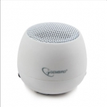 Gembird SPK-103-W White, Portable Speaker, 2 W