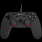 Canyon Wired controller gamepad with hand-cooling, vibration feedback, ti