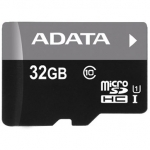 Adata Micro SDHC	UHS-I CL10	32GB	RETAIL W/1 ADAPTER