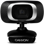 Canyon 1080P Full HD webcam with USB2.0. connector, 360° rotary view sco