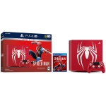 Sony PS 4 (PS4) 1TB Slim -Limited Edition Spiderman red