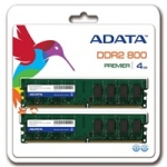 A-data DIMM DDR2 4GB 800MHz CL6 (KIT 2x2GB) ADATA, retail