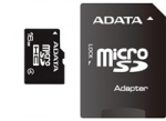 A-data ADATA Micro SDHC karta 16GB Class 4 + SD adaptér