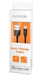 A-data ADATA Sync & Charge Lightning kabel - USB A 2.0, 100cm, plastový,