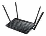 Asus DSL-AC55U Dual-band Wireless AC1200 VDSL/ADSL Modem Router, 4x gigab