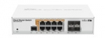 Mikrotik Cloud Router Switch CRS112-8P-4S-IN, 400MHz CPU, 128MB RAM, 8xLA