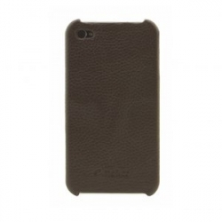 Melkco LEATHER SNAP COVER IPHONE 4/4s brown  (APIPO4LOLT1BNLC)