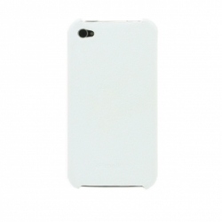 Melkco LEATHER SNAP COVER IPHONE 4/4s white (APIPO4LOLT1WELC)