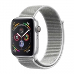 Apple iWatch Series4 GPS, 40mm Silver Aluminium Case with Seashell Sport