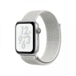 Apple iWatch Nike+ Series4 GPS, 44mm Silver Aluminium Case with Summit Wh