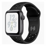 Apple iWatch Nike+ Series4 GPS, 40mm Space Grey Aluminium Case with Anthr