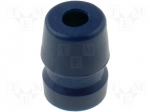 Amphenol AC-GROMMET-BLU / Grommet; for Jack connectors, for XLR connector