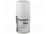Ag termopasty TERMOSPRAY SILVER / Heat transferring paste; silicone+silve
