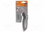 Bahco KERU-01 / Knife; for cutting cardboard, leather etc; Blade:19mm