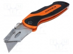Bahco KBSU-01 / Knife; for cutting cardboard, leather etc; Blade:19mm