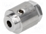 Microbot MR101-001.2 / Adapter; Shaft dia:4mm; Shaft: smooth; Dimensions: