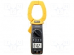 Axiomet / Digital clamp meter; Ø:55mm; LCD 3,5 digit (3999); 565g; 0÷40
