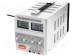 Axiomet AX-3003D / Pwr sup.unit: laboratory; Channels:1; 0÷30VDC; 0÷3A