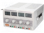 Axiomet AX-3003D-3 / Pwr sup.unit: laboratory; Channels:3; 0÷30VDC; 0÷3