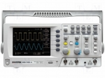 Gw instek GDS-1102-U / Oscilloscope: digital; Band: ≤100MHz; Channels:2