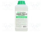 Ag termopasty LAKIER PVB 60 / Varnish; transparent; liquid; 1000ml; Temp: