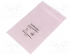 Eurostat group 20-012-0305 / Protection bag; ESD version; self-seal; W:80