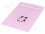Eurostat group 20-012-0406 / Protection bag; ESD version; self-seal; W:10