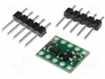 Pololu DRV8838 SINGLE DC MOTOR DRIVER CARRIER / DC-motor driver; IC: DRV8