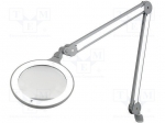 Daylight company E25100 / Desktop magnifier with backlight; Mag:3dpt(x1.7