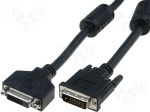 Assmann AK-320108-005-S / Cable; DVI-D (24+1) plug, both sides; black; 50