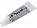 Ag termopasty AG TERMOGLUE 10G / Heat-transferring adhesives; white; 10g;