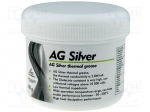 Ag termopasty AG SILVER 100G / Heat transferring paste; silver; silicone+