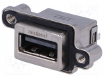 Amphenol MUSBR-A511-R0 / Socket; USB A; MUSB; for panel mounting, screwed