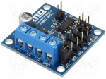 Microbot MR001-003.1 / DC-motor driver; Icont out per chan:2A; Uin mot:7