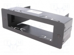 4carmedia / Mounting half frame for CB radio; 1 DIN; Alan, Intek