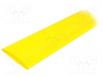 Alpha wire FIT2212IN YELLOW 5X4 FT / Heat shrink sleeve; 2:1; 50.8mm; L:1