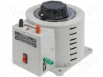 Breve tufvassons KIEA8 / Variable autotransformer; 230VAC; Uout:0÷260V;