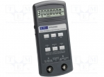 Aim-tti / RF frequency meter; LCD 8,5 digit; ~20h; 0.003-3000000kHz