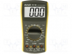 Axiomet AX-100 / Digital multimeter; LCD 3,5 digit (1999); 3x/s; 0÷40°C