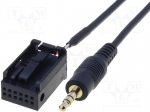 4carmedia / Aux adapter; Jack 3,5mm; Opel