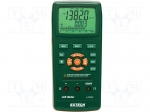 Extech LCR200 / LCR meter; LCD (66,8x52,8), with a backlit; 193x88x41mm;
