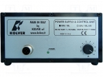 Kolver EDU1BL / Power supply unit; Plug: EU; Application: KOLV-KBL; 138x1