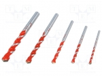 Alpen-maykestag 0000100705100 / Drills; wood, brick type materials, metal