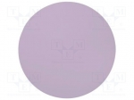 3M 662XW 1MIC D D127MM / Wipe: micro abrasives material; Colour: lavender